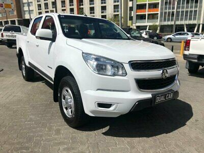 2015 Holden Colorado RG MY15 LS (4x2) White Automatic 6sp A Crew Cab P/Up