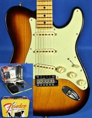 Fender Parallel Universe Strat-Tele Hybrid Sunburst Ltd Ed Electric Guitar