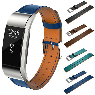 Watch Replacement For Fitbit Charge2 Genuine Leather Band Wrist Strap Wrist Soft