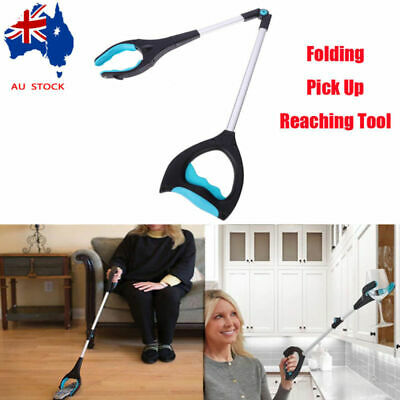 "32"" Easy Reach Grip Pick Up Claw Gripper Grabber Helping Hand Extend Arm Stick"