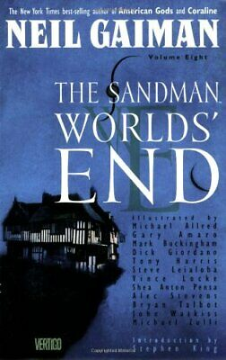 The Sandman: World's End by Gaiman, Neil Paperback Book The Cheap Fast Free Post