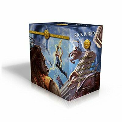 The Heroes of Olympus Paperback Boxed Set by Riordan, Rick Book The Cheap Fast