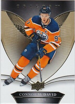 18-19 2018-19 UD Trilogy Connor McDavid #25-Oilers