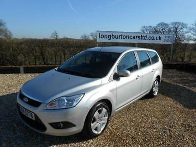 FORD FOCUS  Style estate Silver Manual Petrol estate, 2008