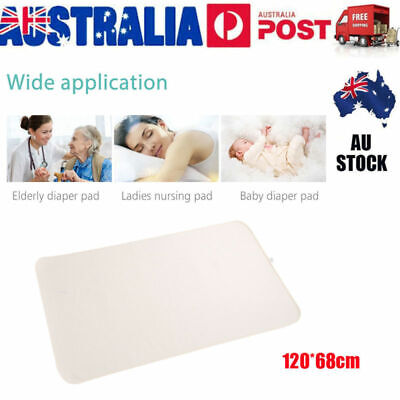 Soft Washable Waterproof Mattress Protector Bed Pad for Kids Adult Incontinence
