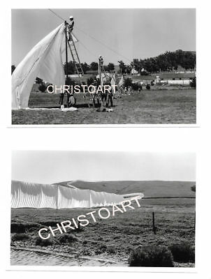 Christo - 8 privaat foto's RUNNING FENCE/ DO NOT COPY