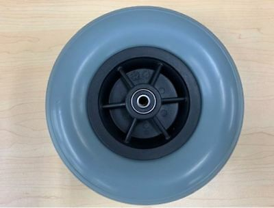 Replacement 8'' Wheelchair Front Castor Wheel - With Twin Bearings, Easy Install