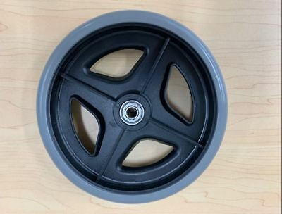 Replacement 7'' Rollator Castor Wheel - With Twin Bearings, Suits Most Rollators