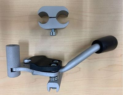 Replacement Self-Propel Wheelchair Brake - Left/Right, Complete Assembly