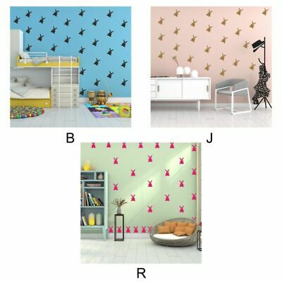 Bunnies Wall Decals PVC Removable Self-Adhesive Wall Stickers Easter Room Decor