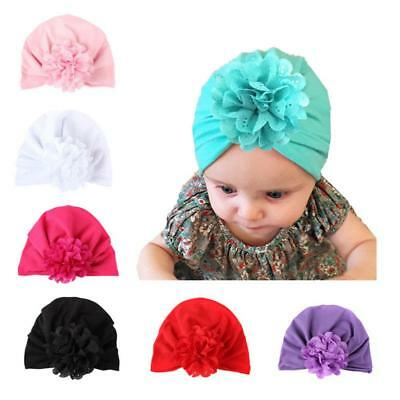 Cute Newborn Toddler Baby Girl Hollow Out Flower Hat Photo Props Cap #G