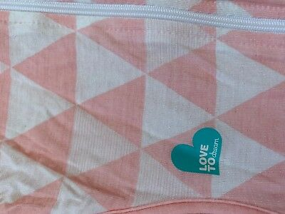 Love to Dream SwaddleUp Pink Bamboo Sleeping Bag 8.5-11kg