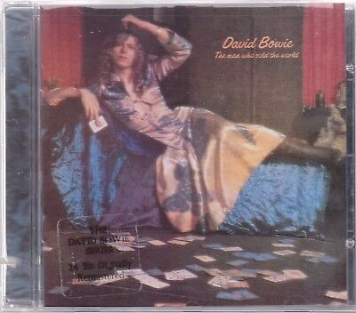 David Bowie - The Man Who Sold The World - Deleted 1999 USA 9 track CD SEALED