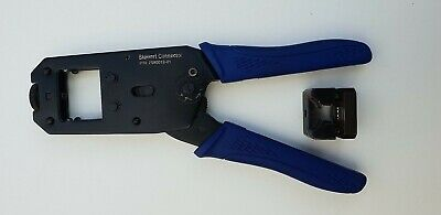 Stewart Connector 2980019-01 Crimp Tool & Die 2980039-01 RJ45 Cat5 Cat5E Crimper