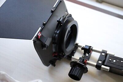 Vocus Matte Box, Follow Focus and Mini Rails with shoulder mount