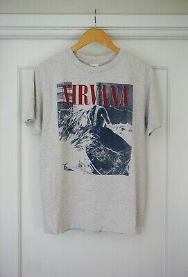 Vintage Nirvana T-shirt Kurt Cobain Sonic Youth, Fits M