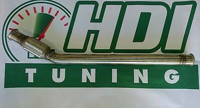 Citroen DS4 DS5 C5 C4 2.0 HDI 136 150 163 DPF Delete downpipe Stainless Steel