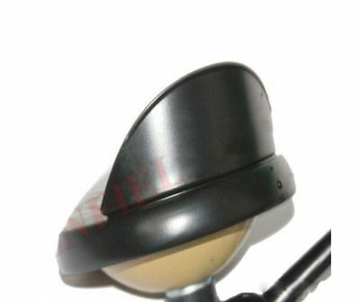 Head Light Inner Outer Rim With Peak Shade Black Powder Coated Royal Enfield AUS