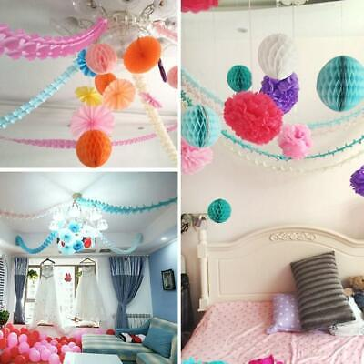 Paper Garland Happy Birthday Bunting Banner Wedding Party for Hanging Decoration