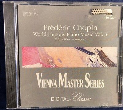 Frederic Chopin - World Famous Piano Music Vol.3 BRAND NEW/Sealed CD Album