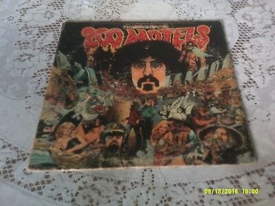 Frank Zappa. 200 Motels. 2 Lps Gatefold. United Artists. Uas-9956. 1971.