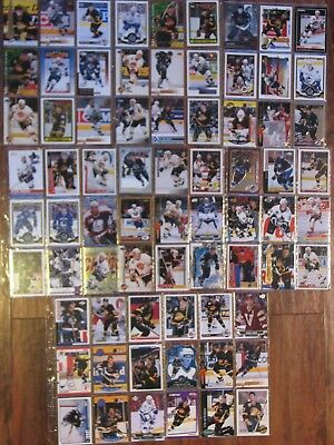 Vancouver Canucks lot of 72 cards - all different players- Bure, Sedins,Linden,
