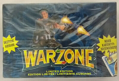 Warzone - Doom Trooper - Mutant Chronicles - Booster Box Limited (Mint, Sealed)