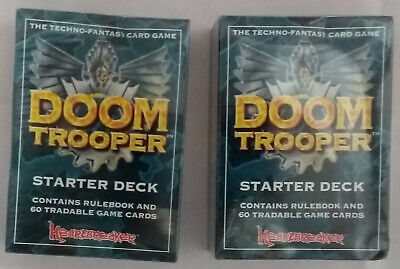 Doom Trooper - 2x Starter Deck (Mint, Sealed)