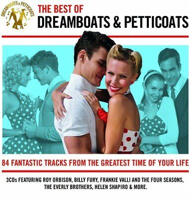 Dreamboats And Petticoats - The Best of Dreamboats And Petticoats (3 X CD)