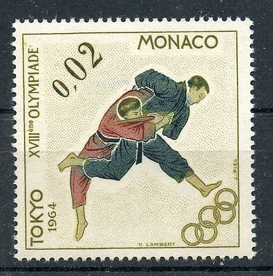 Stamp / Timbre Monaco Neuf N° 655 ** Jeux Olympiques De Tokyo / Judo