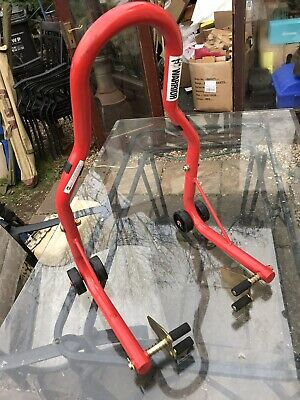 RED WARRIOR  Motorcycle Motorbike Rear Paddock Stand