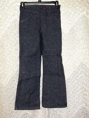 Vintage Maverick Automaticks Boy's Jeans Regular Sz 10 Flare Leg Cotton Pants