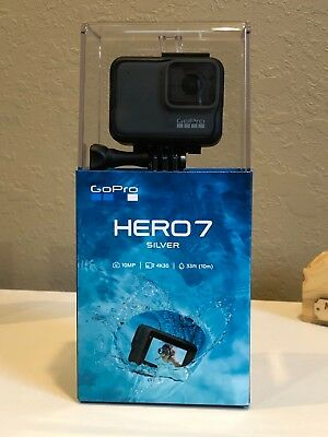 Brand New GOPRO HERO 7 SILVER 4K30 10MP Action Camera – newest version