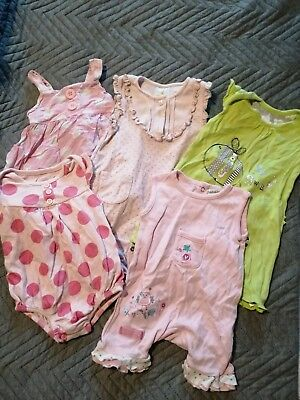❤️Bundle Of Baby Girls Rompers 0-3 Months❤️