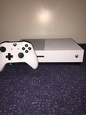 Microsoft Xbox One S Console 500GB - White - USED, GREAT CONDITION, FIFA 18 inc.