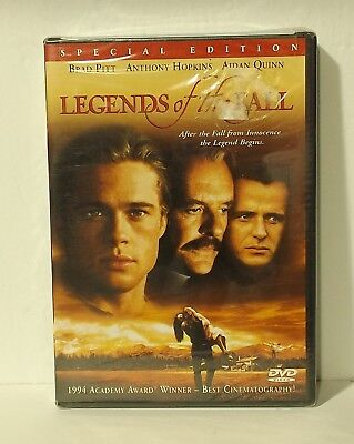 Legends of the Fall (DVD, 2000, Special Edition) NEW AUTHENTIC REGION 1