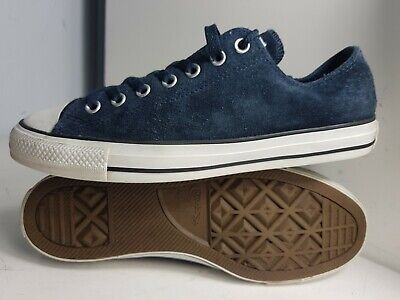 Converse Ct All Star Size 9 Eu 42.5 Ox Twilight Navy Suede White Lo Trainers f4440ca63