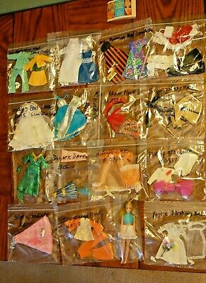 VTG 70s TOPPER DAWN DOLL CLOTHES OUTFITS PAMPHLET GOOD CLEAN CONDITION SET2