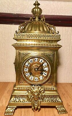 JAPY FRERES FRENCH Mantel CLOCK 1880? Loft Find