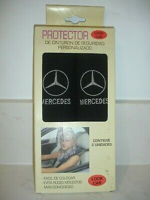 Seat Belt Protector Cover With Mercedes Logo. In Original Box.