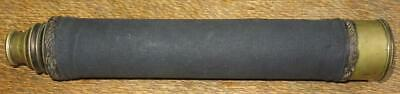 Early to mid 19th Century French Sea Captain or Officer Single Draw Telescope