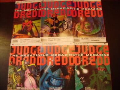 Judge Dredd Megazine Vol #1 Complete