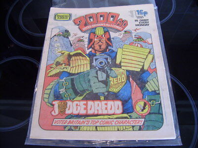 2000AD PROG 193 -  First Appearance of The Fink!