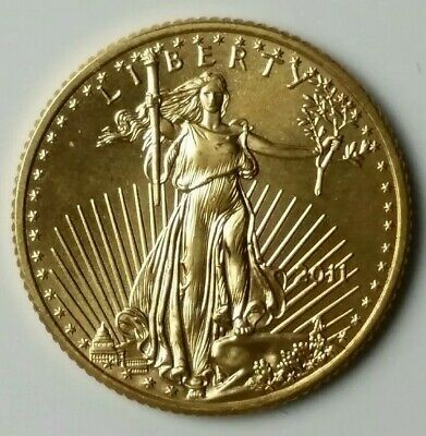 2011 $5 1/10 oz Gold American Eagle