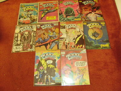 2000Ad Collection Progs 541-550