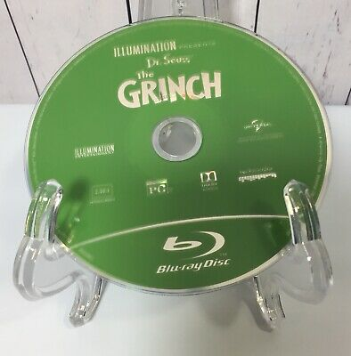 Dr. Seuss The Grinch 2018 (Blu-ray only) NO CASE  Illumination