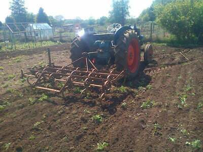 spring tined cultivator , cat 2 links.