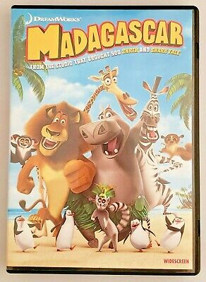MADAGASCAR [DVD, Widescreen Edition, 2005] • DreamWorks