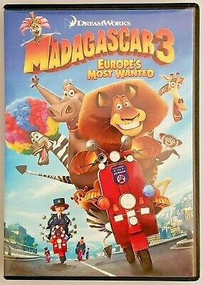MADAGASCAR 3 • Europe's Most Wanted [DVD, Widescreen Edition, 2005] • DreamWorks