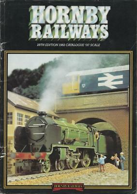 Model Railway Catalogue Hornby OO Scale 28th Edition 1982 R480